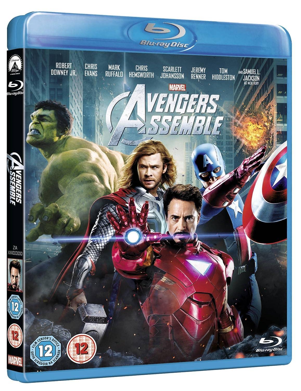 Avengers Assemble [Reino Unido] [Blu-ray]: Amazon.es: Movie, Film ...