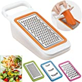 Cooko Mandoline Spiralizer,Vegetable Slicer,Fruit Peeler,Cheese Graters,Multi-functional Kitchen Aid ,4 Interchangebale Blades-Grater, Shredder, Julienne ,Chopper and an Extra Peeler