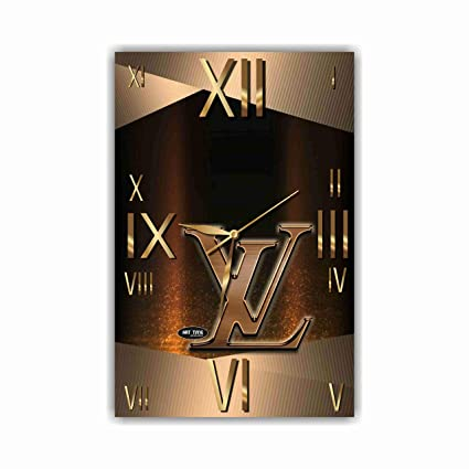 f9bfe52f12 Amazon.com  Exclusive Wall Clock Louis Vuitton 11 x 17 inches – Unique Item  for Home and Office
