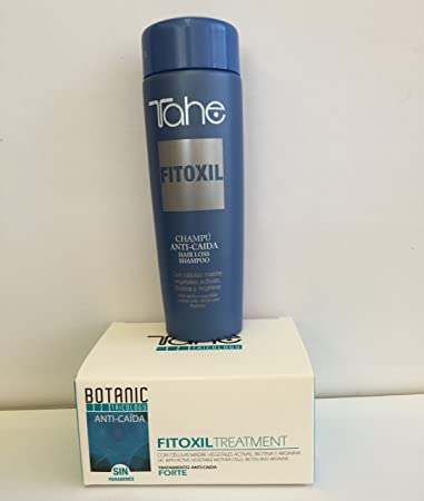 Fitoxil Intensive Anti Hair-loss Treatment 5 X 10ml Plus Shampoo 250ml with Active Vegetable