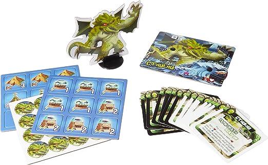 Iello IEL51350 King of Tokyo Monster - Juego de Mesa Cthulhu [Importado de Alemania]: Amazon.es: Juguetes y juegos