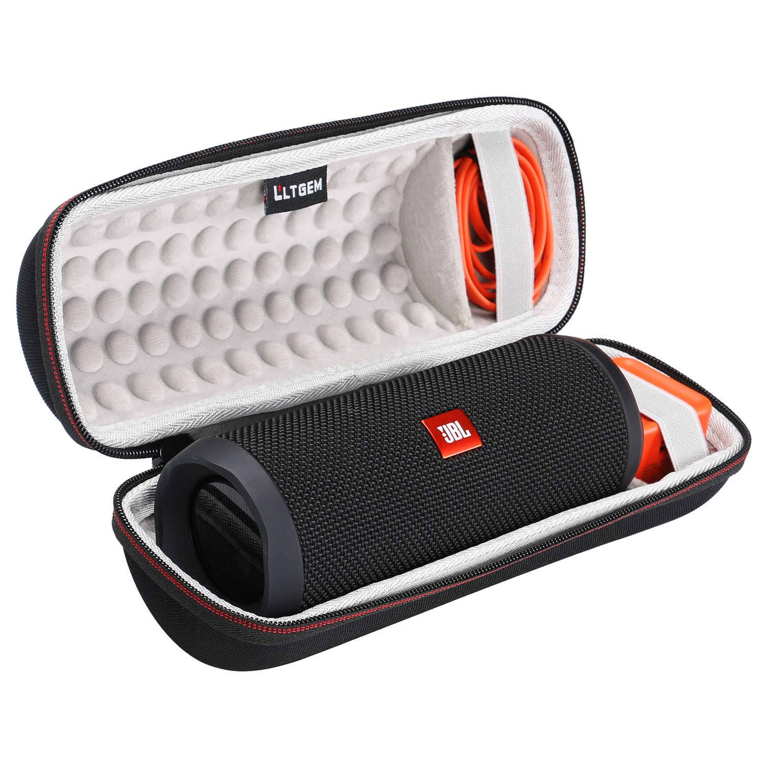 LTGEM Case for JBL Flip 3/4 Waterproof Portable Bluetooth Speaker.