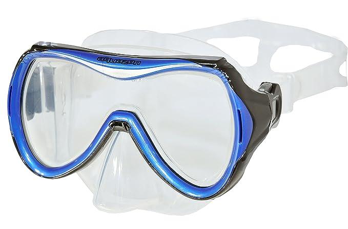 AQUAZON Maui Junior Medium Schnorchelbrille, Taucherbrille, Schwimmbrille, Tauchmaske für Kinder, Jugendliche von 7-14 Jahren