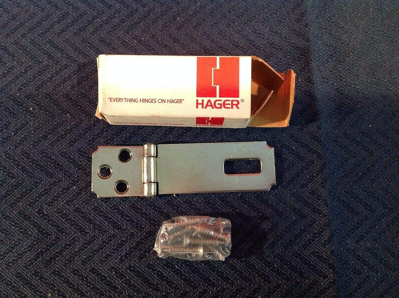 Hager US2C WS1911 - Bisagra de seguridad (acero inoxidable, 2-1/2