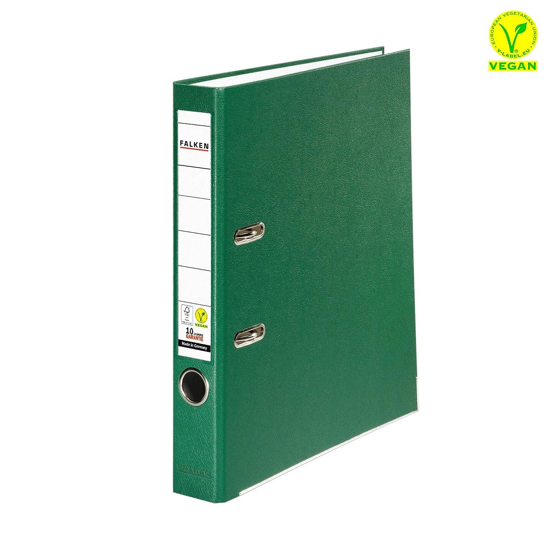 80 x Ordner A4 8cm PP Kunststoff Rot Aktenordner Briefordner Breit Büro