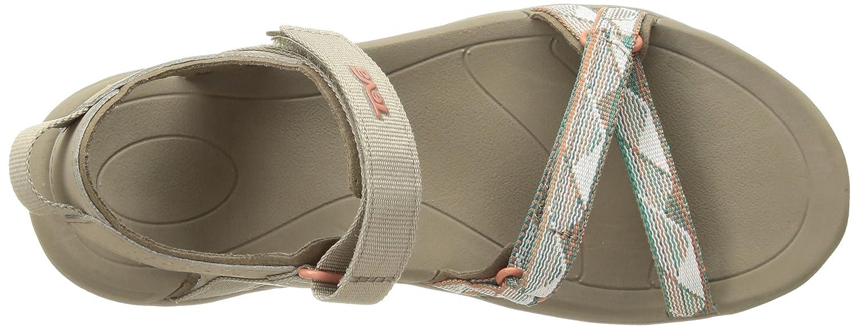 Teva Women's Verra Sandal B07CSQ399Z 40-41 M EU / 9.5 B(M) US|Surf Taupe Multi