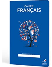 Cuadernos Camaleón A4 Grapa, cuadrícula 4x4, 48 Hojas, diseño Francés Serie árbol
