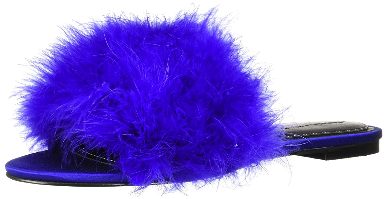 KENDALL + KYLIE Women's Chloe Slide Sandal B0752KBBR6 7 B(M) US|Blue