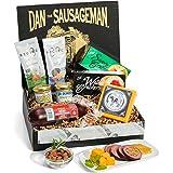 Dan the Sausageman's Yukon Gourmet Gift Basket -Featuring Dan's Original Sausage, 100% Wisconsin Cheese, and Dan's Sweet Hot