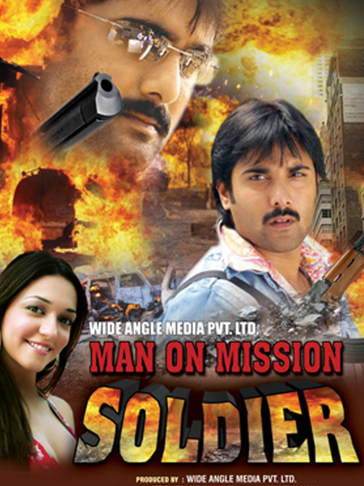 Man on Mission Soldier on Amazon Prime Video UK