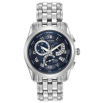 Citizen BL8000-54L - Reloj cronógrafo de Cuarzo para Hombre, Correa de Acero Inoxidable: Amazon.es: Relojes