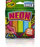 Crayola Special Effects Sidewalk Chalk - Neon ( 5 Chalk Sticks)