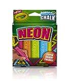 Crayola Special Effects Sidewalk Chalk - Neon ( 5 Chalk Sticks)