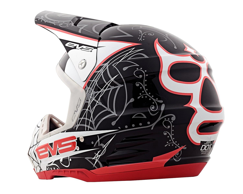 Amazon.com: EVS Sports Vortek T5 Luchador Helmet (Black, Large): Automotive