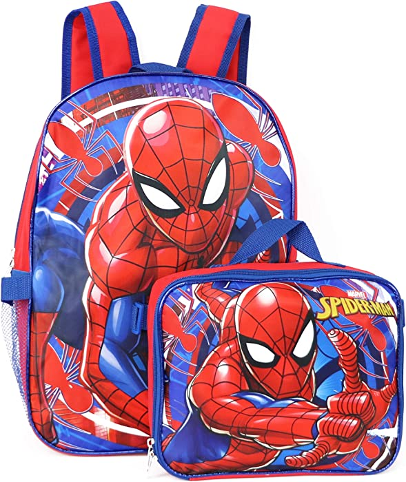 Top 9 Spiderman Coming Home Backpack With Lunch Box