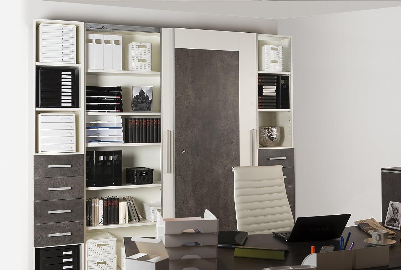 24,2 x 8,2 x 29,8 cm Kunststoff gr/ün A4 PS Rotho Timeless Stehsammler