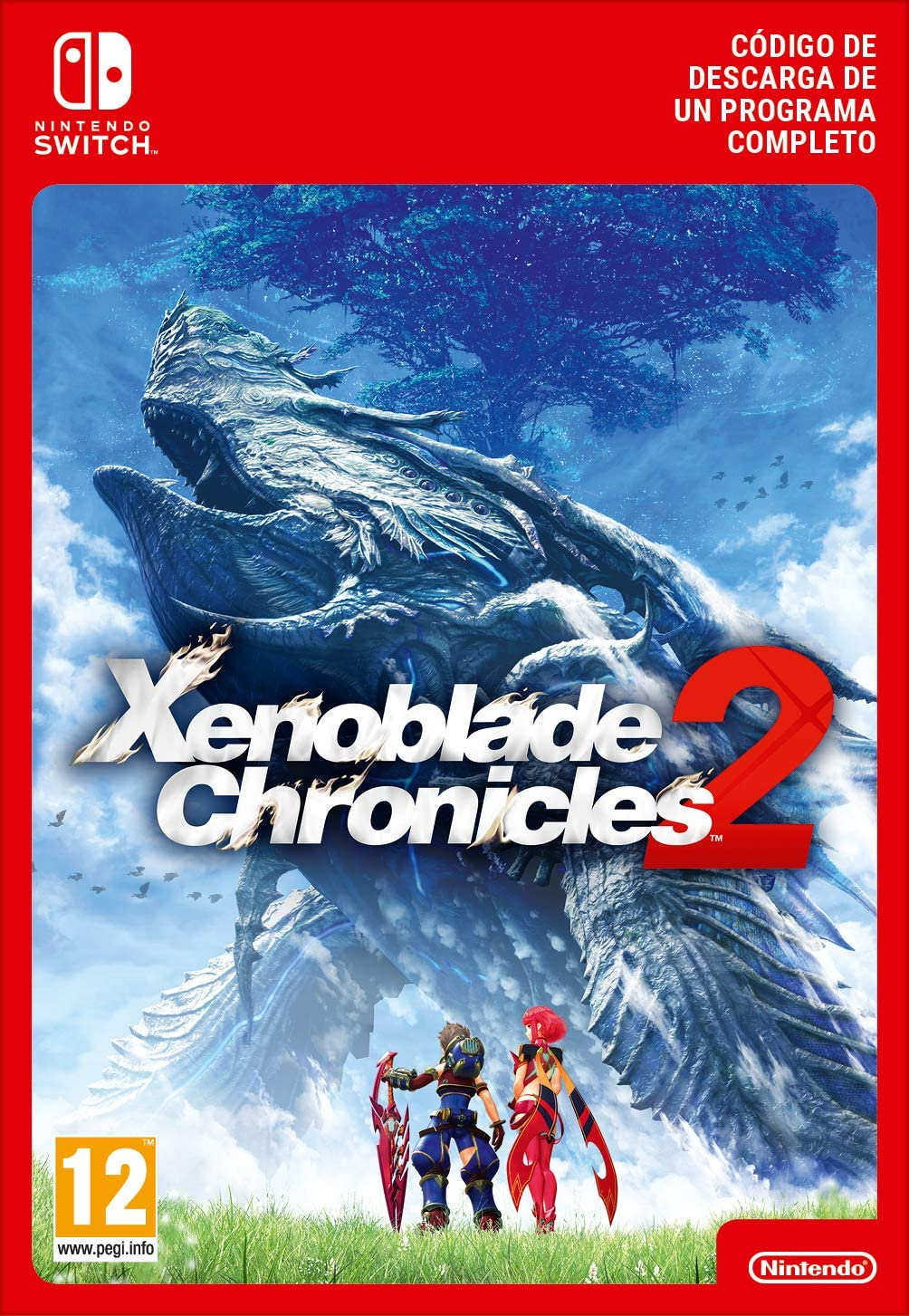 Xenoblade Chronicles 2 [Switch - Download Code]: Amazon.es ...