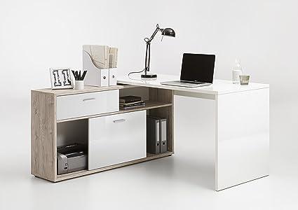 Muebles de oficina en casa, mesa de ordenador para estudio de alto ...