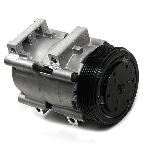 Nueva acc58169 AC a/c compresor con 6 ranuras de embrague para Ford Ranger y