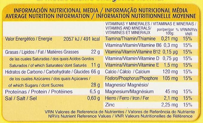 Chiquilin Energy Maximo Sabor Galleta con Gotas de Chocolate - Pack de 5 x 40 g - Total: 200 g: Amazon.es: Amazon Pantry