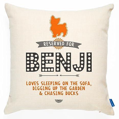 Cojín personalizado para perro reservado - Yorkshire Terrier ...