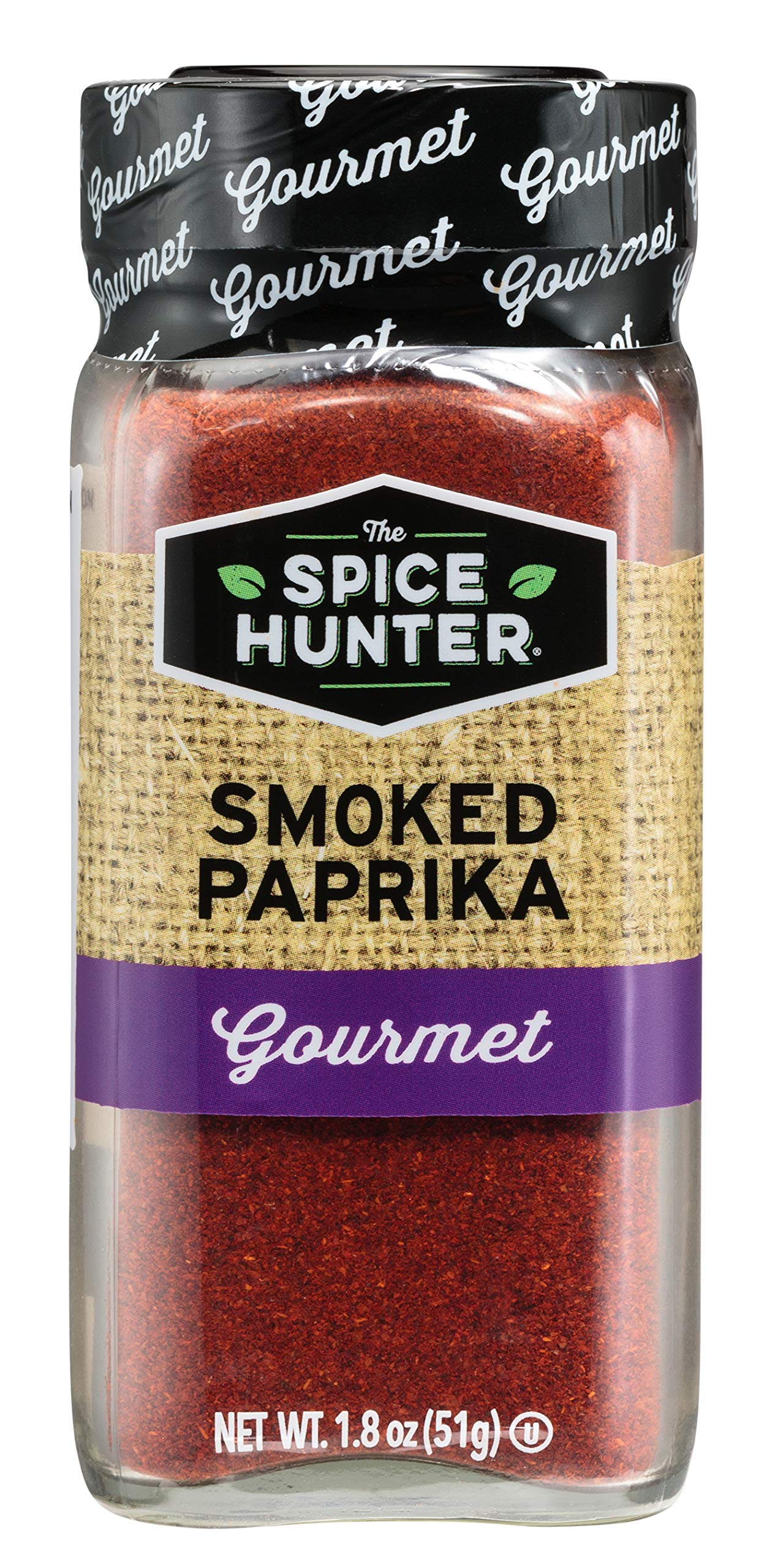 The Spice Hunter Paprika, Smoked, Ground, 1.8-Ounce Jar