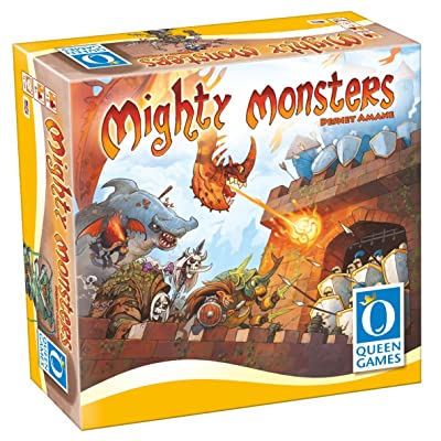 Mighty Monsters Family Board Game: Toys & Games