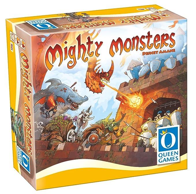 Amazon.com: Juego de mesa para familia Mighty Monsters: Toys ...