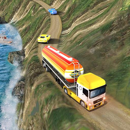 Oil Tanker Hills Truck Drive Simulator 2018 (School Oil)