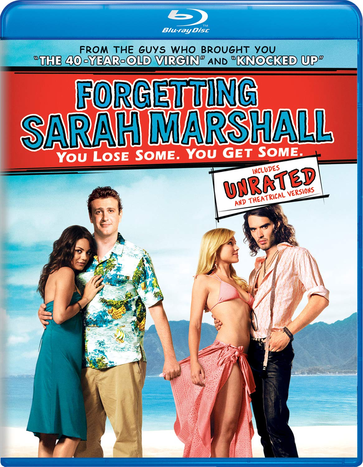 Blu-ray : Forgetting Sarah Marshall (Unrated Version)