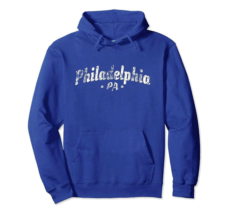 Philadelphia Hoodie - Retro Vintage Style Philly Pullover-alottee gift