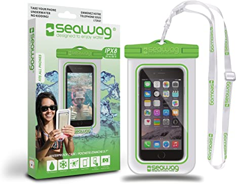 SEAWAG FUNDA 100% IMPERMEABLE Y SUMERGIBLE PARA SMARTPHONE: Amazon ...