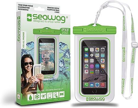 SEAWAG FUNDA 100% IMPERMEABLE Y SUMERGIBLE PARA SMARTPHONE: Amazon ...