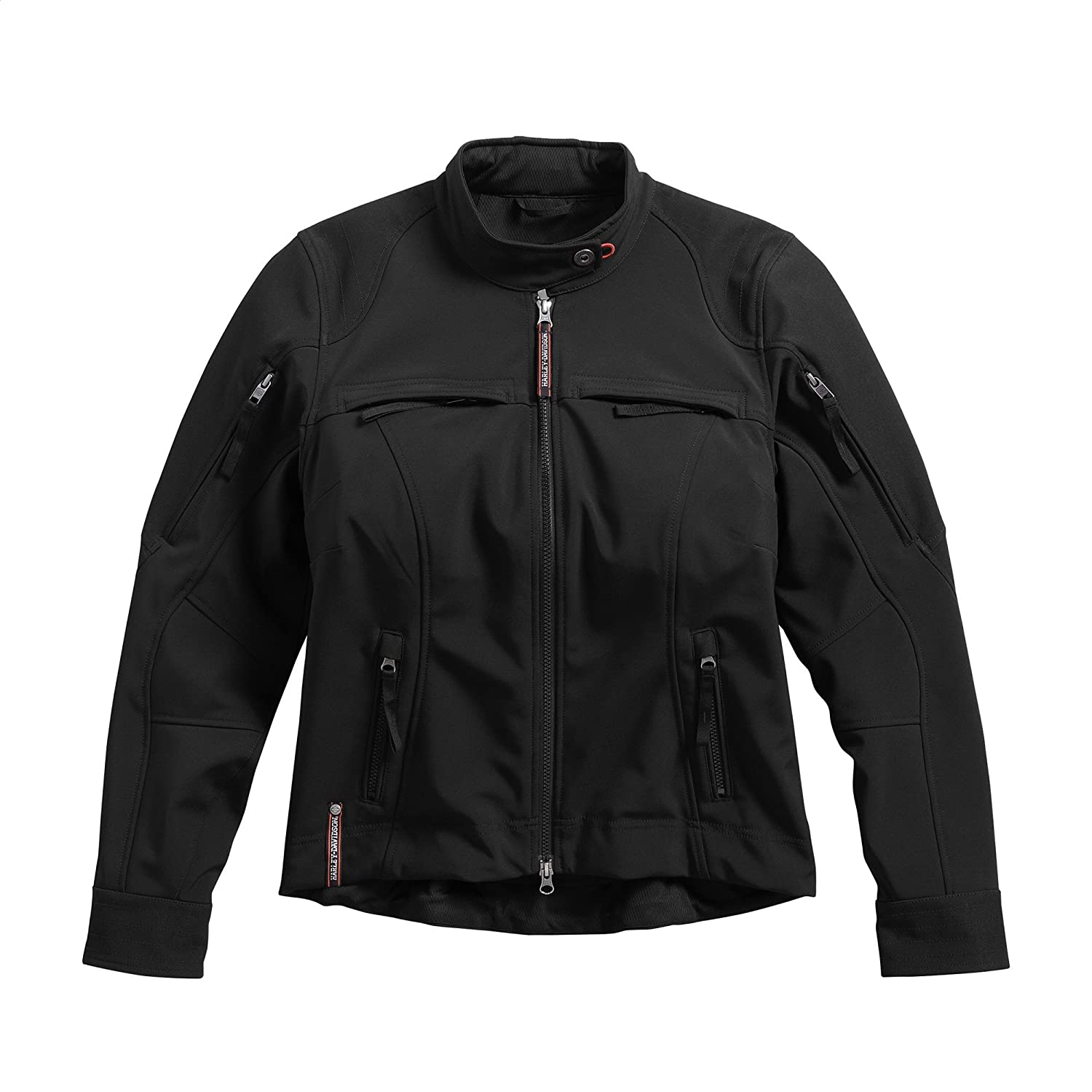 Harley-Davidson Official Women\'s Esteem Soft Shell Riding Jacket, Black (Medium) Harley-Davidson Motor Company Inc.