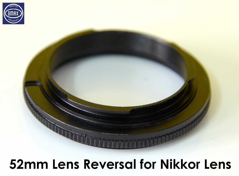 Omax 52mm Mount Macro Adapter Ring (For Nikon..