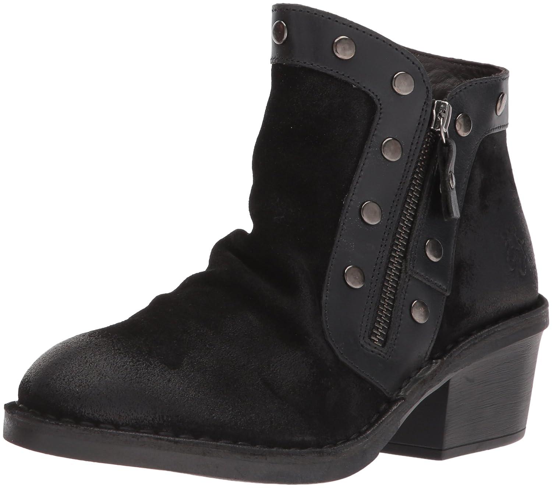 FLY London Women's Duke941fly Ankle Boot B06X9JLVGP 36 M EU (5.5-6 US)|Black Oil Suede/Rug