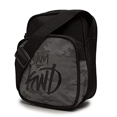Kings Will Dream | KWD Dream Hurricane Man Bag - Black/Reflect Camo