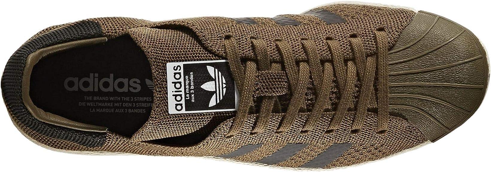 adidas Superstar 80s Primeknit, Sneakers Basses Homme, Vert