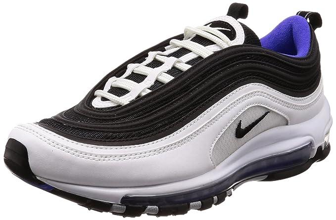 Dettagli su Nike Air Max 97, Scarpe da Fitness Uomo, Nero BlackWhite 001, 46 EU