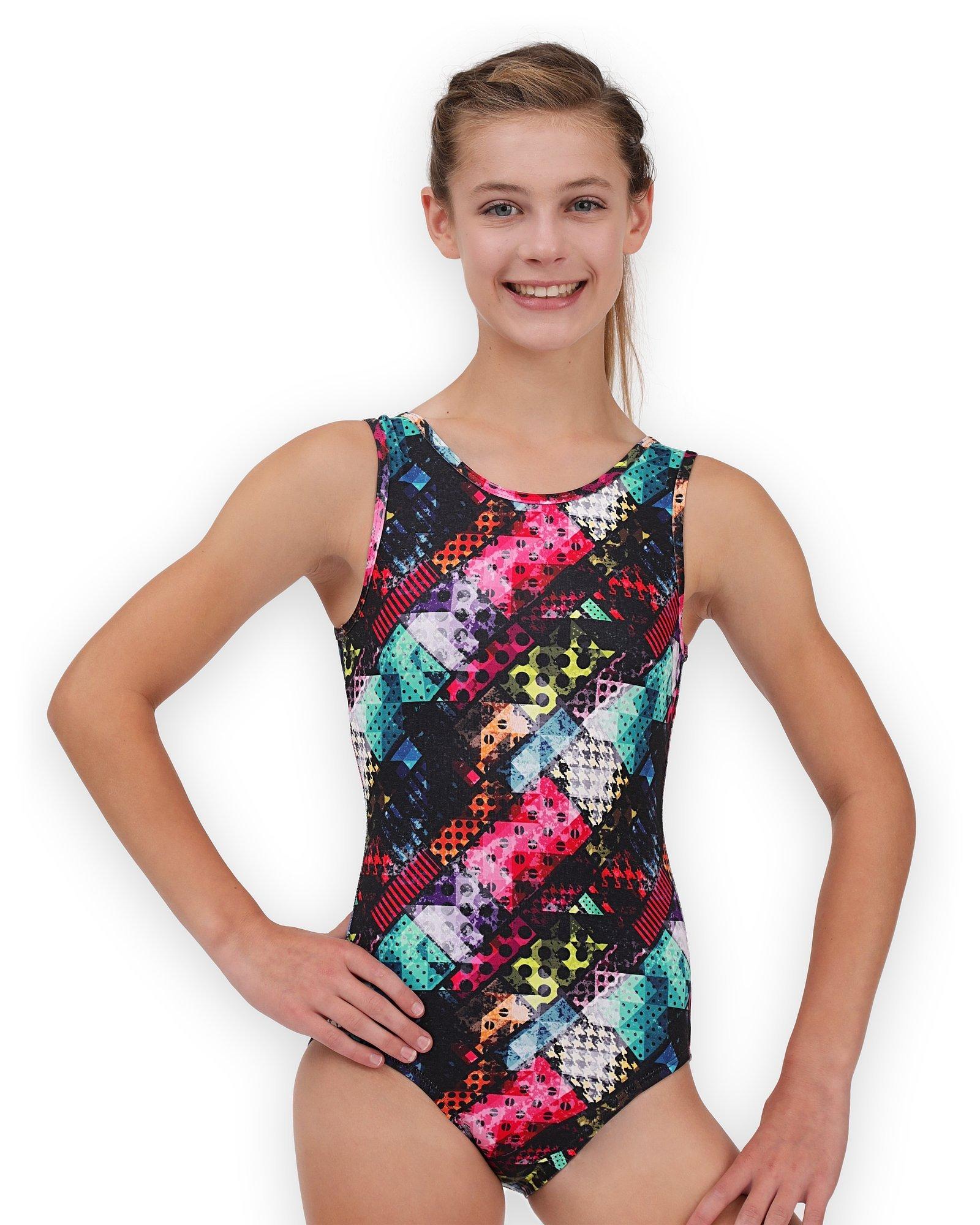 Pelle Gymnastics Leotard for Girls - Traffic - CL by Pelle (Image #1)