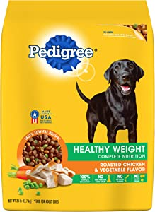 PEDIGREE Healthy Weight Roasted Chicken & Vegetable Flavor Dry Dog Food