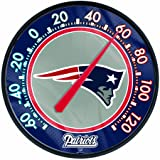 """NFL New England Patriots Thermometer, 12"""" x"""