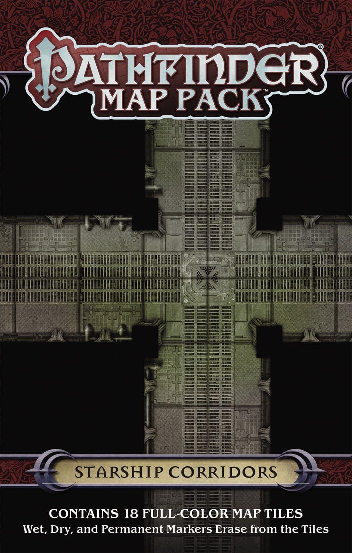 Pathfinder Map Pack: Starship Corridors (Pathfinder Adventure Card Game): Engle, Jason A., Engle, Jason A.: Amazon.es: Juguetes y juegos