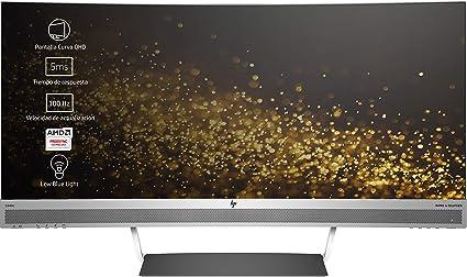 """HP Envy 34 - Monitor de 34"""" (Pantalla Curva, LED, 3440 x"""