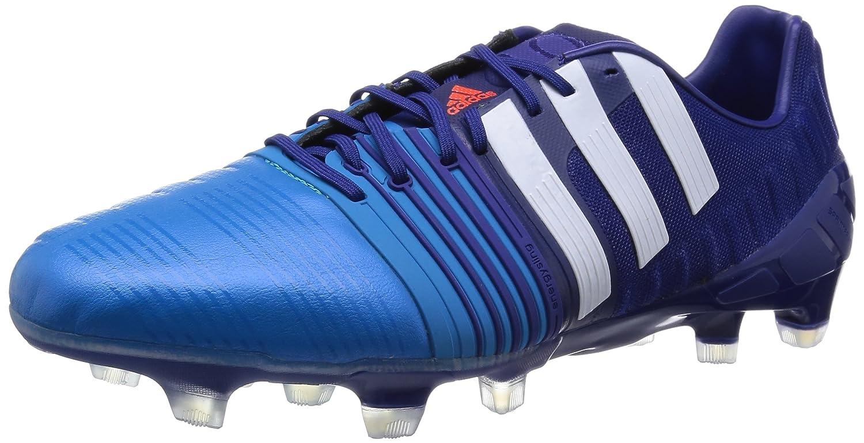 [アディダス] adidas サッカースパイク nitrocharge 1.0 FG B00OJIHIRCアマゾンパープルF14/ランニングホワイト/ソーラーブルー S14 24.5 cm