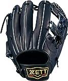 ZETT(ゼット) 軟式野球 プロステイタス グラブ (グローブ) 新軟式ボール対応 セカンド・ショート用 右投げ用 日本製 BRGB30910