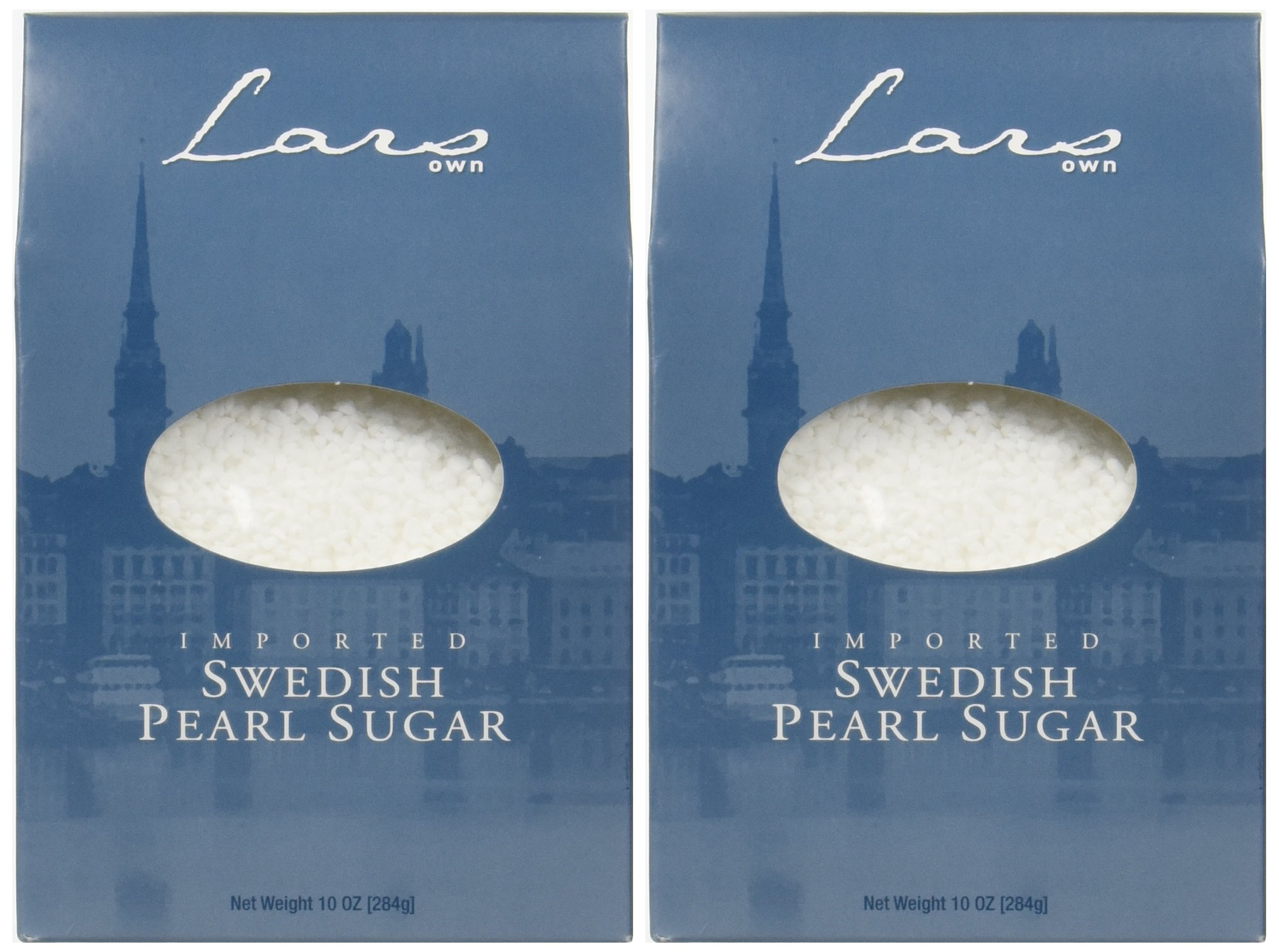 Lars' Own Swedish Pearl Sugar - 10 oz - 2 pk