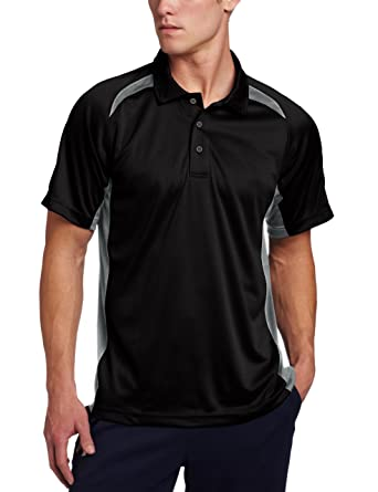 978c7edc Blackhawk Black SS Athletic Polos 88AP00BK-SM at Amazon Men's Clothing store :