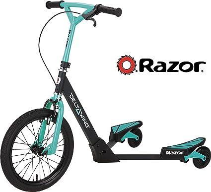 Amazon.com: Razor DeltaWing patín de tres ruedas ...