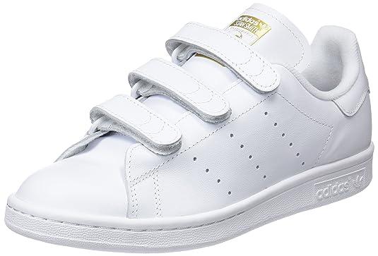 adidas donne 'stan smith di bianco / oro, 5